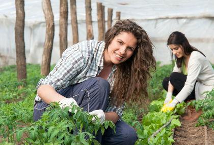 A nők túlnyomórészt büszkék arra, hogy a mezőgazdaságból élnek