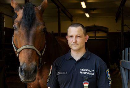 Madarász Róbert őrnagy szerint a magyar lovasrendőrség reformkorát éli napjainkban