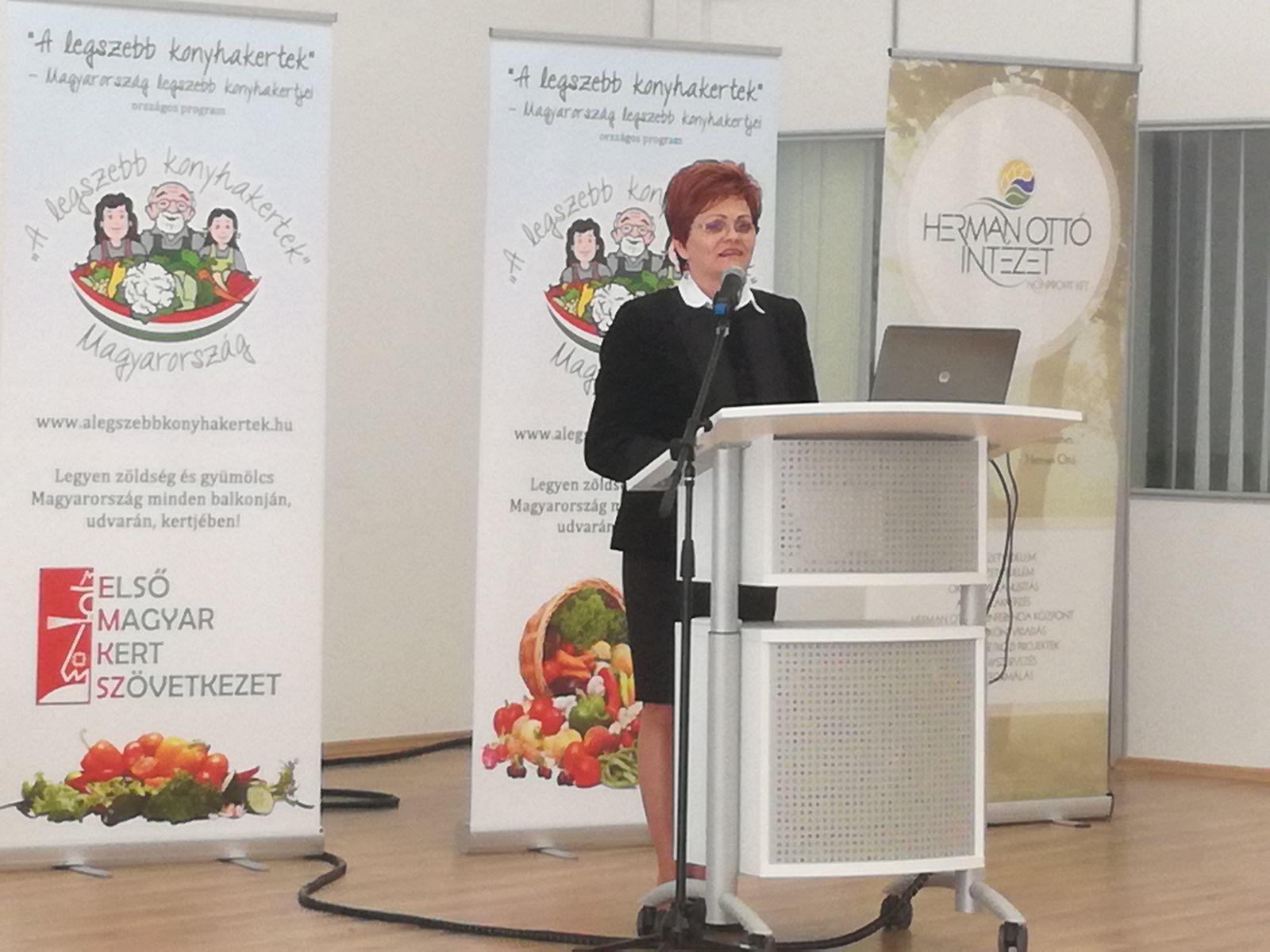 Kovács Szilvia: A program egyik legnagyobb eredménye, hogy a hat év alatt szinte gyökeresen megváltoztak a kertművelési szokások