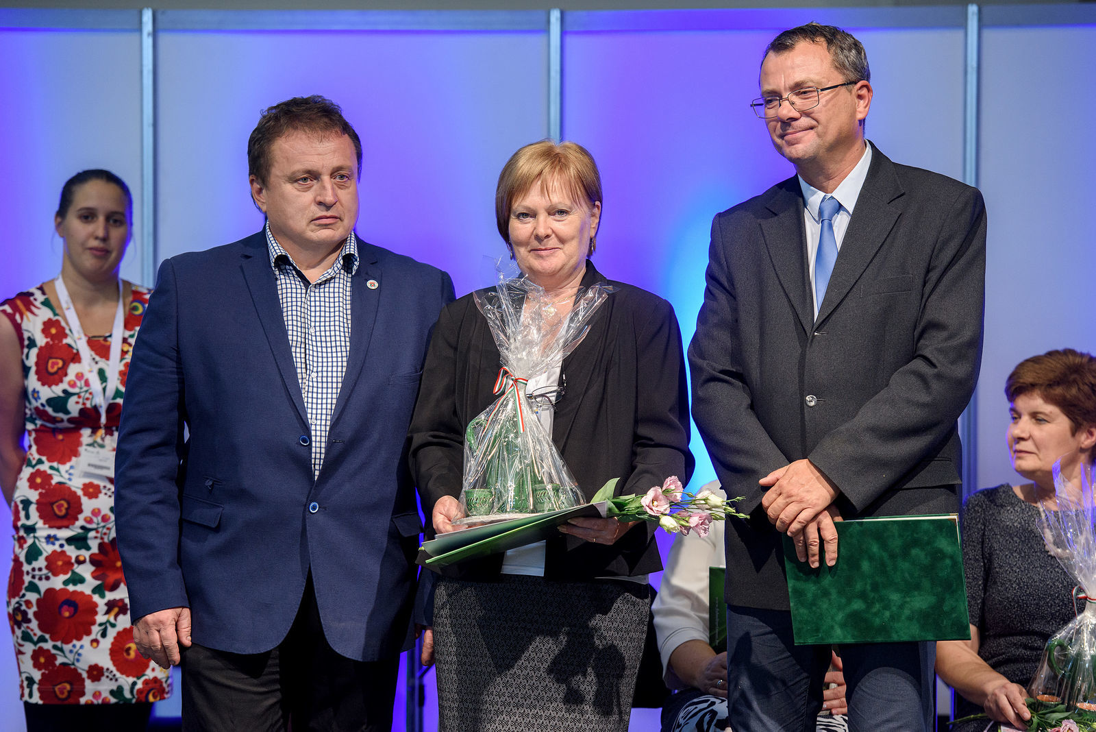 Révész Márta az Észak-Alföld régió Falusi Turizmus Szolgáltatója díjat érdemelte ki